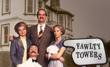 Fawlty Towers TV comedy show
